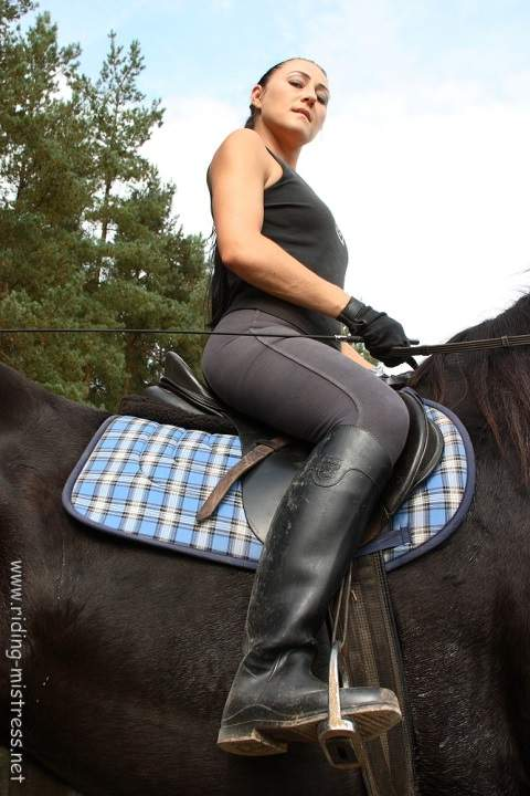 Mistress Goes For A Ride